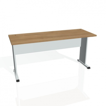 Psací stůl Hobis PROXY PE 1600, višeň/šedá
