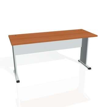 Psací stůl Hobis PROXY PE 1600, třešeň/šedá