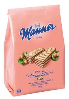 Sušenky Manner  -  lískooříškové, 400 g