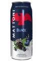 Minerální voda Mattoni - black, jemně perlivá, plech 4x 0,5 l
