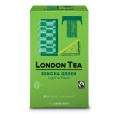 Zelený čaj London Tea - Sencha, Fairtrade 20 x 2g
