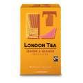 Bylinný čaj London Tea - citron & zázvor, Fairtrade, 20x 2g
