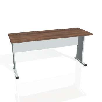 Psací stůl Hobis PROXY PE 1600, ořech/šedá