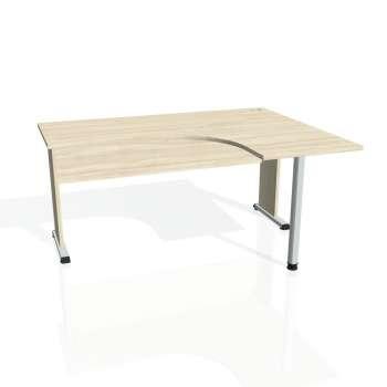 Psací stůl Hobis PROXY PE 60 levý, akát/akát