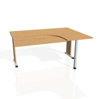 Psací stůl Hobis PROXY PE 60 levý, buk/buk