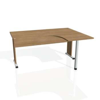 Psací stůl Hobis PROXY PE 60 levý, višeň/višeň