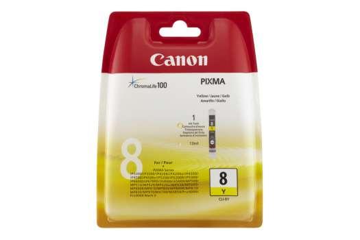 Cartridge Canon CLI-8Y - žlutá