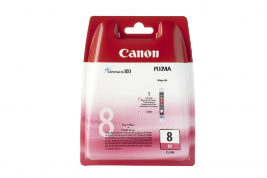 Cartridge Canon CLI-8M - purpurová