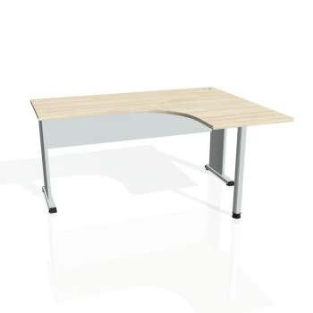 Psací stůl Hobis PROXY PE 60 levý, akát/šedá