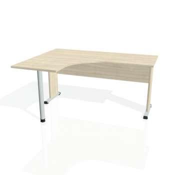 Psací stůl Hobis PROXY PE 60 pravý, akát/akát