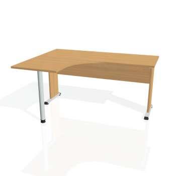 Psací stůl Hobis PROXY PE 60 pravý, buk/buk
