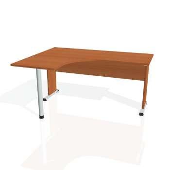 Psací stůl Hobis PROXY PE 60 pravý, třešeň/třešeň