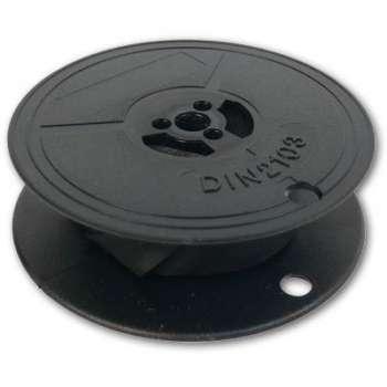 Barvicí páska do psacího stroje DIN 1 - černá, 13 mm x 10 m