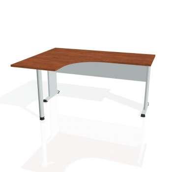 Psací stůl Hobis PROXY PE 60 pravý, calvados/šedá