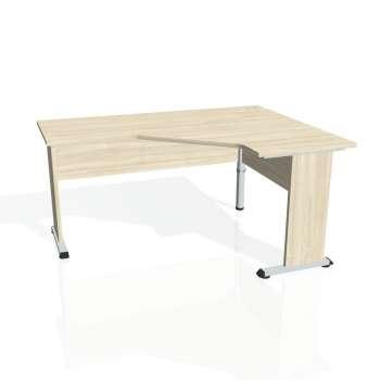 Psací stůl Hobis PROXY PEV 60 levý, akát/akát