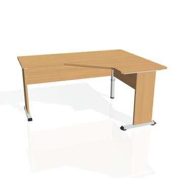 Psací stůl Hobis PROXY PEV 60 levý, buk/buk