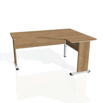 Psací stůl Hobis PROXY PEV 60 levý, višeň/višeň