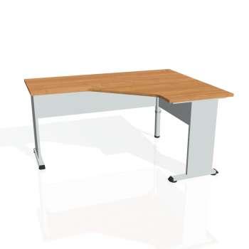 Psací stůl Hobis PROXY PEV 60 levý, olše/šedá