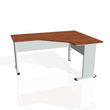 Psací stůl Hobis PROXY PEV 60 levý, calvados/šedá