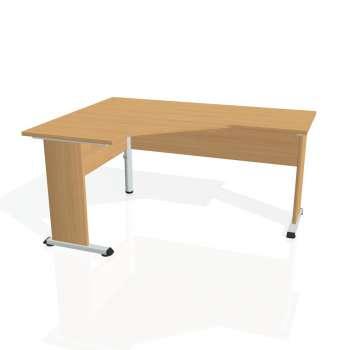 Psací stůl Hobis PROXY PEV 60 pravý, buk/buk