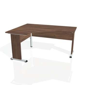 Psací stůl Hobis PROXY PEV 60 pravý, ořech/ořech