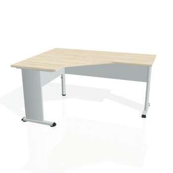Psací stůl Hobis PROXY PEV 60 pravý, akát/šedá