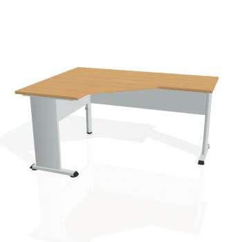 Psací stůl Hobis PROXY PEV 60 pravý, buk/šedá