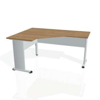Psací stůl Hobis PROXY PEV 60 pravý, višeň/šedá