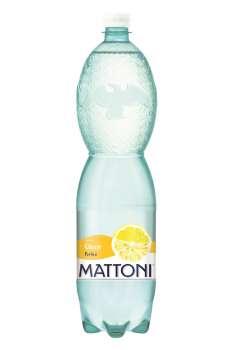 Ochucená minerální voda Mattoni - Citron, 6 x 1,5 l, perlivá