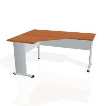 Psací stůl Hobis PROXY PEV 60 pravý, třešeň/šedá