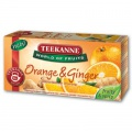 Ovocný čaj Teekanne - pomeranč se zázvorem, 20 x 2,25 g