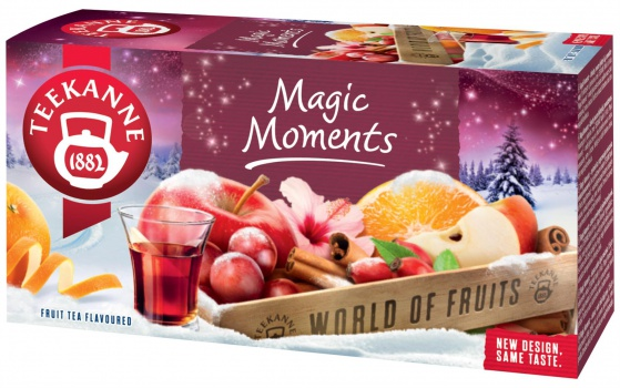 Ovocný čaj Teekanne magic moments, 20x 2,5 g