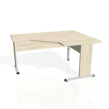 Psací stůl Hobis PROXY PEV 80 levý, akát/akát
