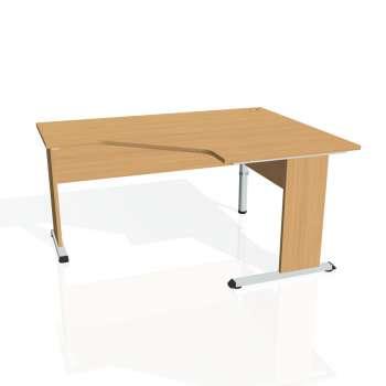 Psací stůl Hobis PROXY PEV 80 levý, buk/buk