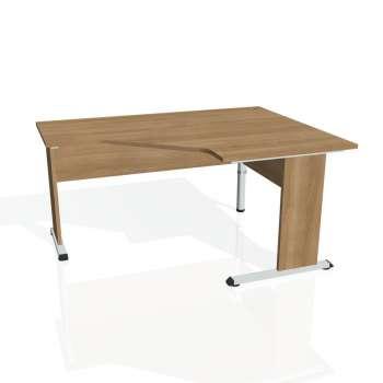 Psací stůl Hobis PROXY PEV 80 levý, višeň/višeň