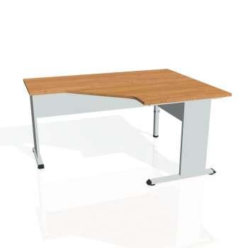 Psací stůl Hobis PROXY PEV 80 levý, olše/šedá
