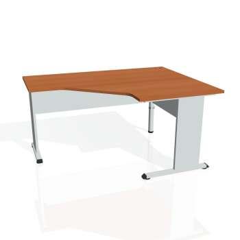 Psací stůl Hobis PROXY PEV 80 levý, třešeň/šedá