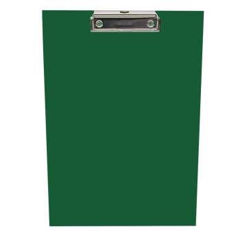 Jednodeska A4 s klipem, tmavě zelená