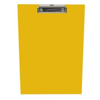 Jednodeska A4 s klipem, žlutá