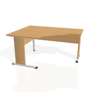 Psací stůl Hobis PROXY PEV 80 pravý, buk/buk