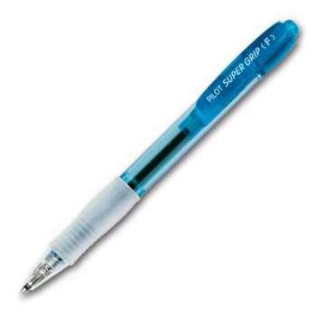 Kuličkové pero Pilot Super Grip, neon modré