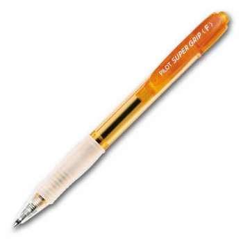 Kuličkové pero Pilot Super Grip, neon koňakové