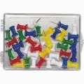 Připínáčky na korkové tabule - barevné