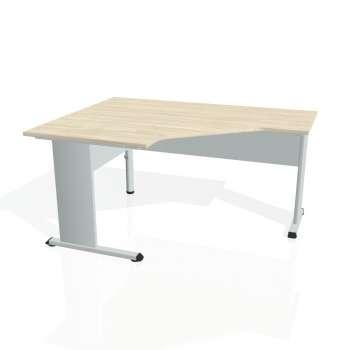 Psací stůl Hobis PROXY PEV 80 pravý, akát/šedá