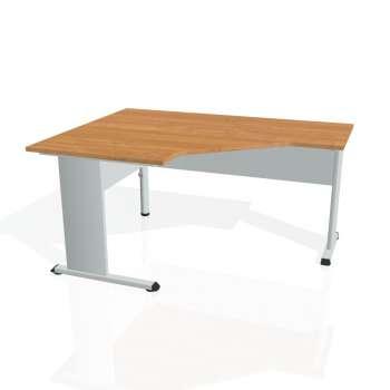 Psací stůl Hobis PROXY PEV 80 pravý, olše/šedá
