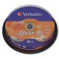 DVD-R Verbatim - cake box, 10 ks