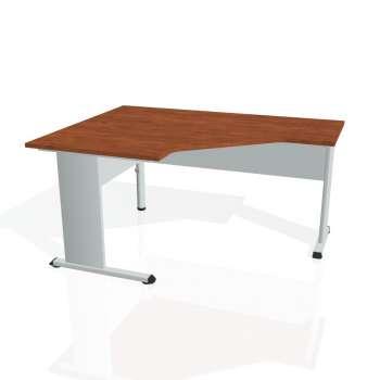 Psací stůl Hobis PROXY PEV 80 pravý, calvados/šedá