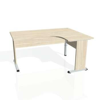 Psací stůl Hobis PROXY PE 2005 levý, akát/akát