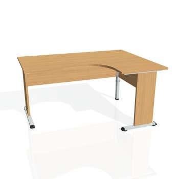 Psací stůl Hobis PROXY PE 2005 levý, buk/buk