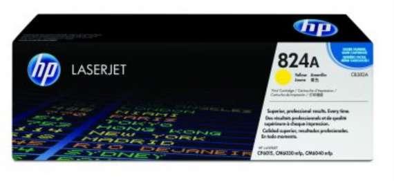 Toner HP CB382A/824A - žlutá
